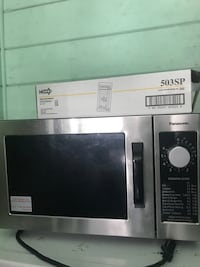Stainless-steel Panasonic microwave oven Oakland, 94605