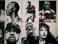 Acrylic hand painting by me for sale $65 each Las Vegas, 89119