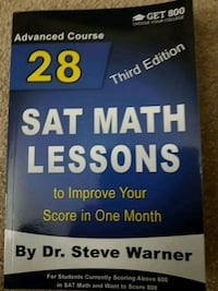 28 SAT Math Lessons to improve your score in One M Mississauga, L5E 3J1