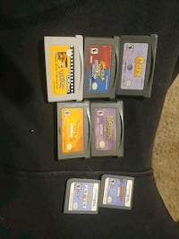 Gameboy advance and ds games St. Thomas, N5P 2C2