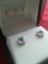925 silver 1.5kt diamond Earings