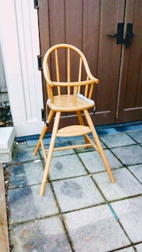 brown wooden high chair Vancouver, V6P 2W3