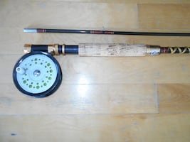 Fly Fishing Rod and Reel, Salmon, Carps, etc