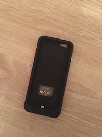 Black/pink iPhone 6/7 rechargeable case Ames, 50010