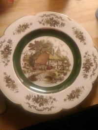 Ascot service plate by wood and sons  Peach Bottom, 17563