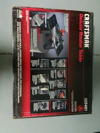 Craftsman router table Manatee County, 34201