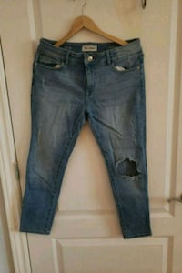 blue denim stone wash jeans Montréal, H2L 0A1