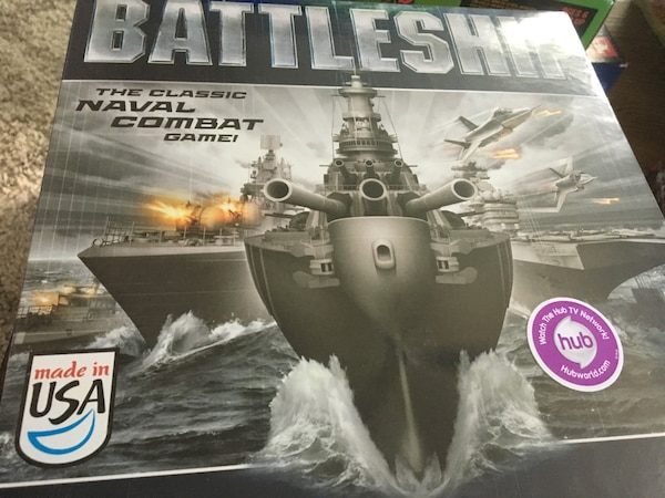 battleship naval combat game box