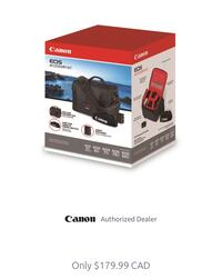 EOS accessory kit Canon bag BRAND NEW Vaughan, L4L