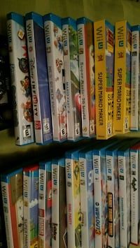 WII U GAMES FOR SALE  Houston, 77088