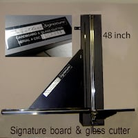 board and glass cutter null