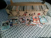 box of baseball cards Glen Burnie, 21060