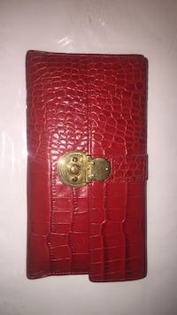 red leather clutch Newport News, 23605