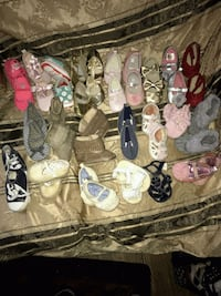 assorted pairs of shoes and sandals San Bernardino