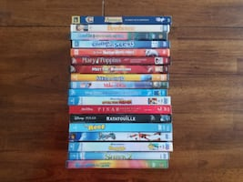 Disney, Pixar, DreamWorks and other family DVD movies