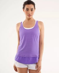 Lululemon size 12 Mod Moves tank top Power Purple new Hamilton, L8L 7N2