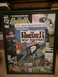 The punisher war journal comic book picture Edmonton, T5P 1T6