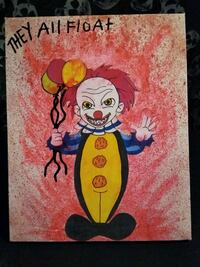 Old school pennywise artwork by salem Albuquerque, 87108