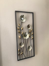 black and gray metal wall decor Fairfax, 22033
