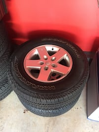 Jeep Wrangler Wheels and Tires Fairfax, 22033