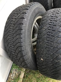 Winter Tires /c Rims Southwest Middlesex, N0L