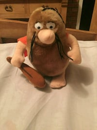 Vintage toys Captain caveman plush doll from 1984 Halton Hills