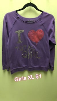 purple and pink long-sleeved shirt Bakersfield, 93311