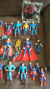 Superman figures and other items Rainsville, 35986