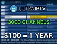 3000 CHANNELS & 1500 MOVIES & SHOWS for $13 a month Toronto