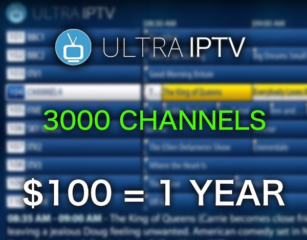 3000 CHANNELS & 1500 MOVIES & SHOWS for $10 a month