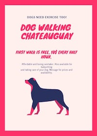 Dog walking Châteauguay