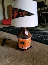 Orioles lamp Baltimore, 21206
