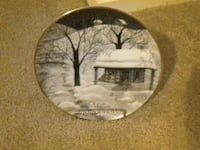 Moonlight Visitors collectible plate Traverse City, 49684