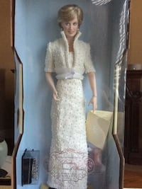 Princess Diana Of Wales Franklin Mint Collectable DollDress  Monterey Park, 91754