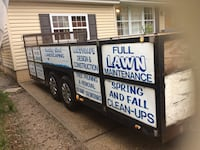 18'feet heavy trailer for construction with tile clean  Central Islip, 11722
