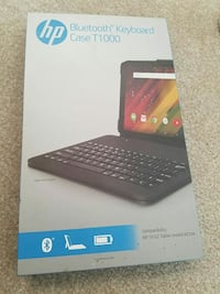 black HP Bluetooth keyboard case T1000 box 70 km