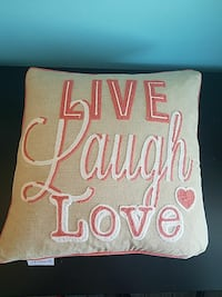 Coral Quote Pillow Minooka, 60447