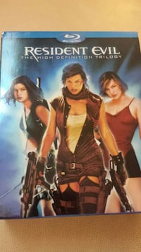 Resident Evil Trilogy Blu-Ray disc case Scarborough, M1M