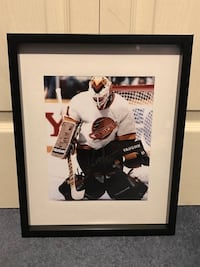Kirk McLean signed and framed photo  Châteauguay, J6K 2M7
