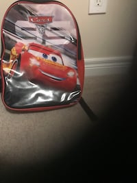 red and black leather backpack Bradford West Gwillimbury, L3Z 0B4