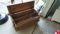 brown wooden tool chest Des Moines, 50315