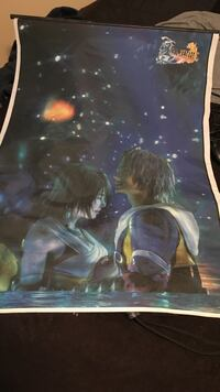 LIMITED Final Fantasy X wall scroll College Station, 77845