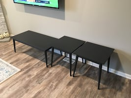 1 Coffee Table / 2 End Tables (Set)