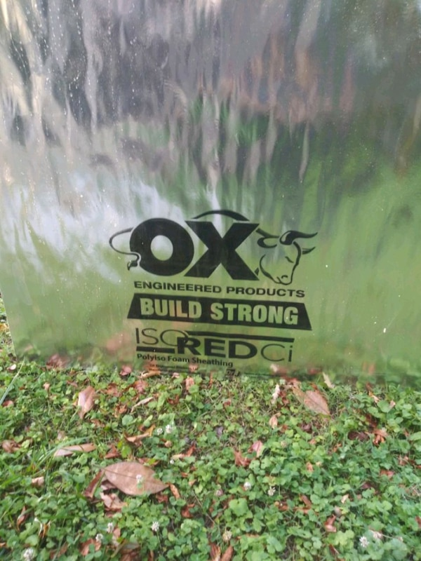 Ox Build Strong Brandnew Insulation