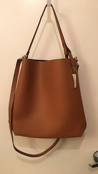 brown leather two-way shoulder bag Ontario, 91764