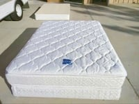 Serta Queen Double Pillow Top Mattress and Box Spring Used in Great Conditions-FREE DELIVERY! El Paso, 79902