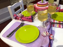 """18""""doll furniture party set"""