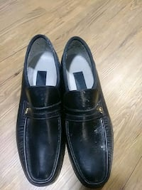 pair of black leather loafers Oakville, L6H 2Z4
