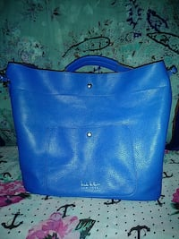Nicole Miller NY Blue Tote $25