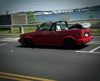 red and black convertible coupe Waterbury, 06705
